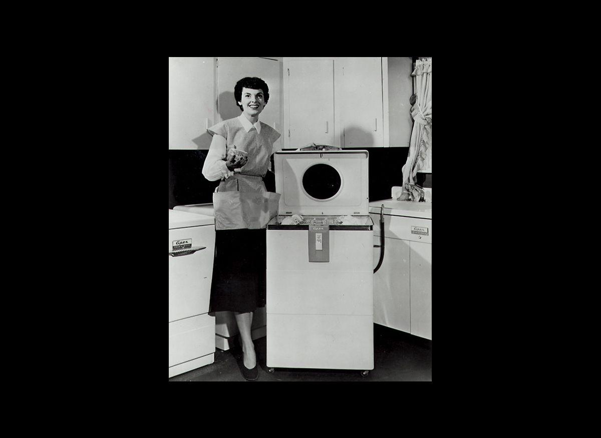Electric dishwashers, 1952