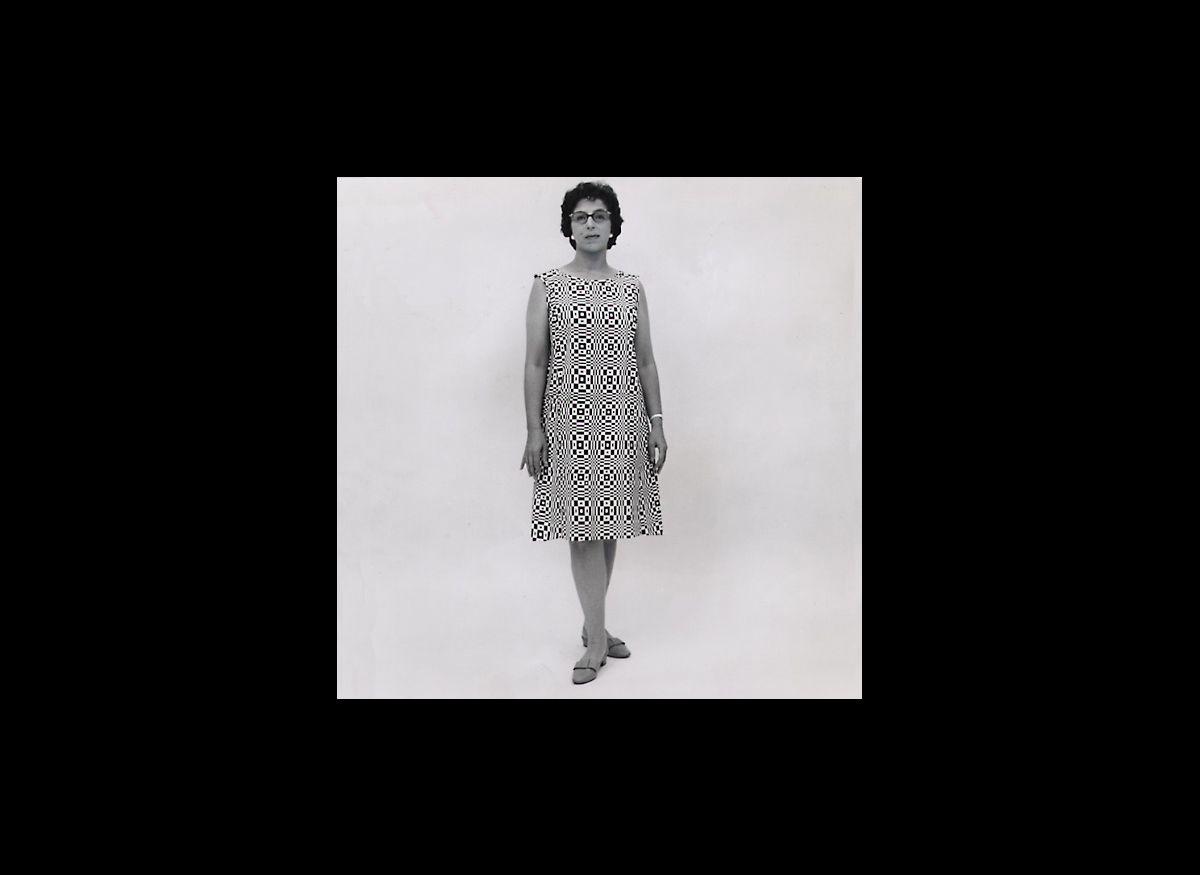 Paper dress, 1966