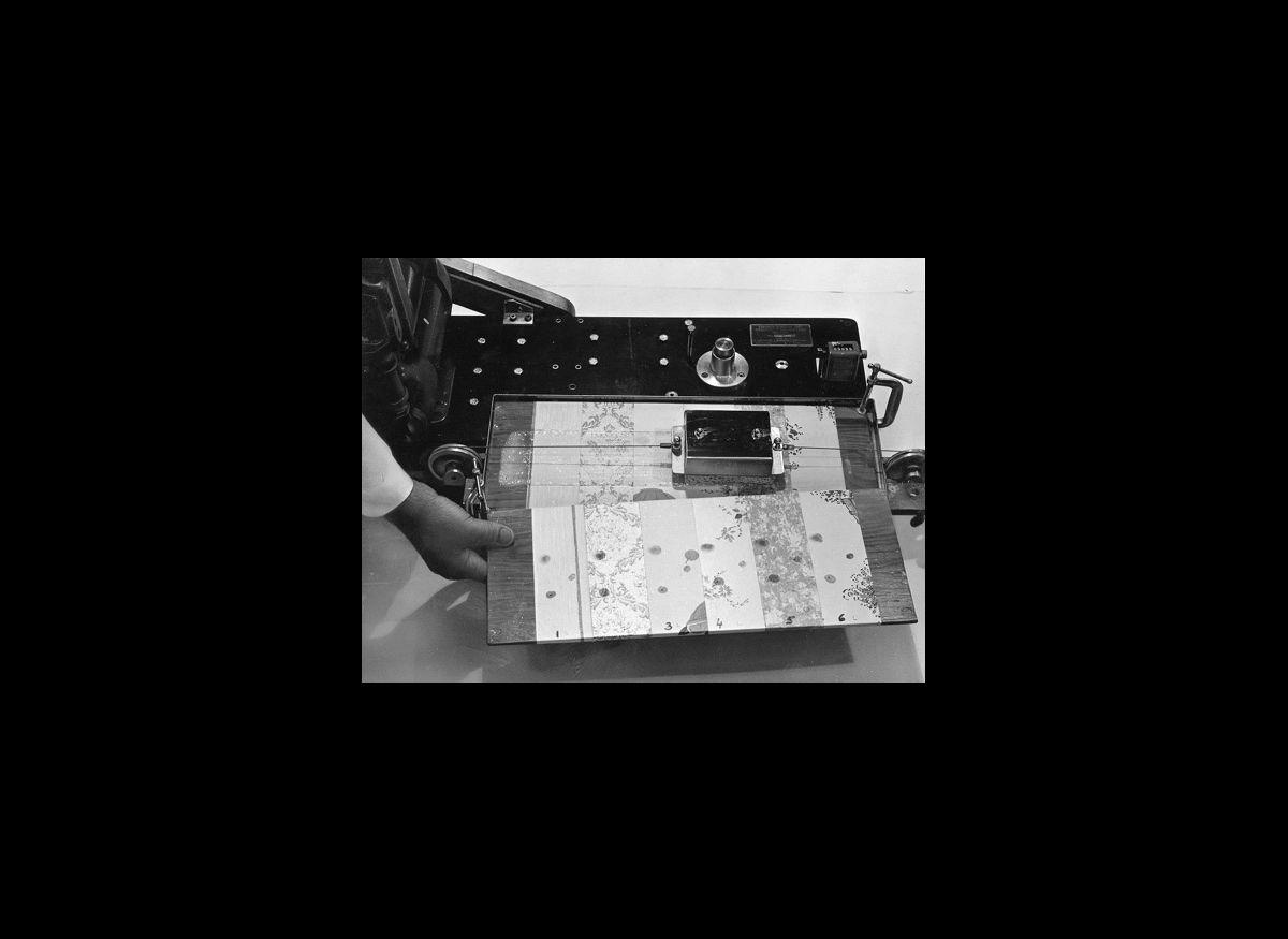 Vinyl wall coverings, 1967