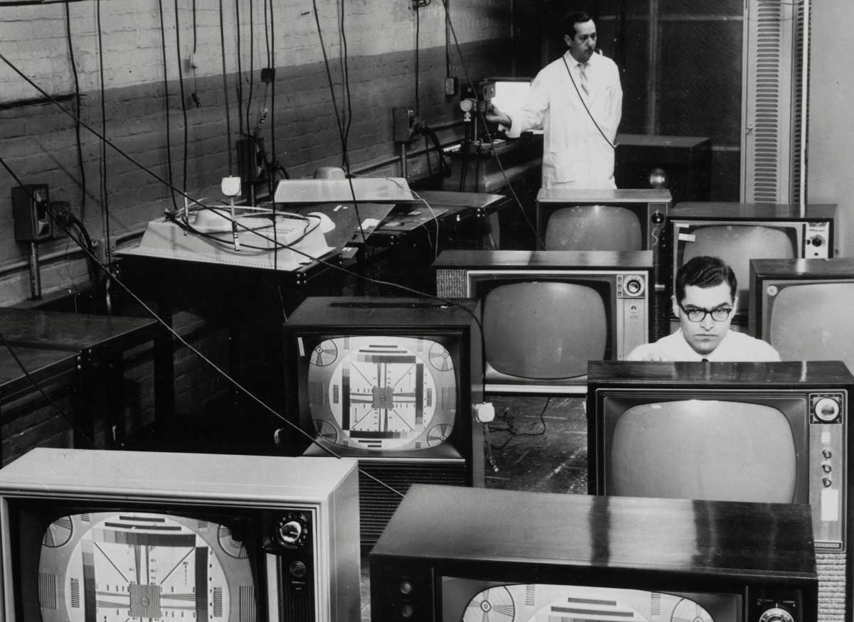 Television consoles, 1960
