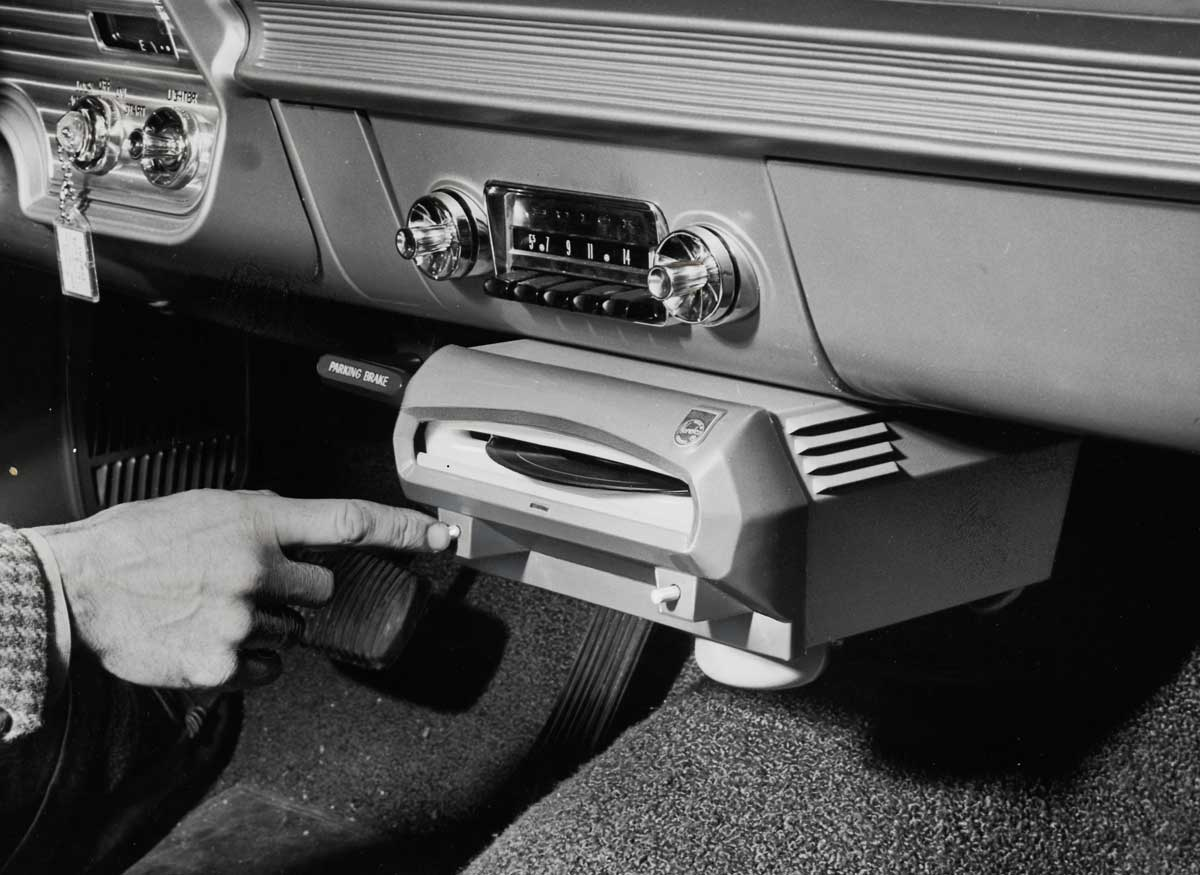 Car record players, 1961