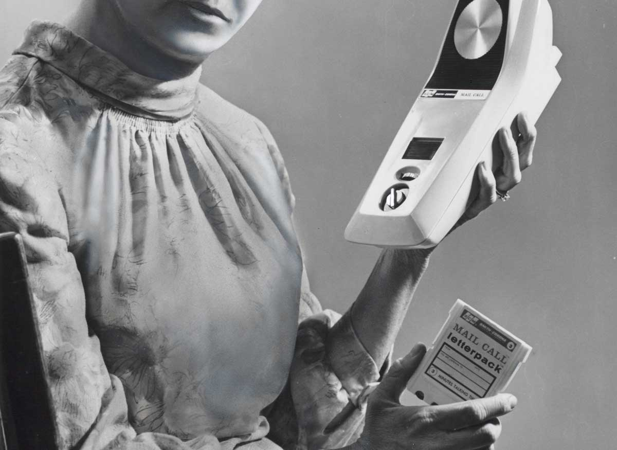 Recorder-player for messages, 1968