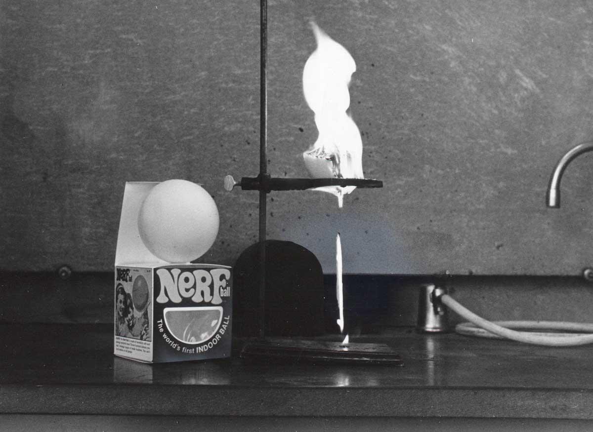 Nerf balls, 1971