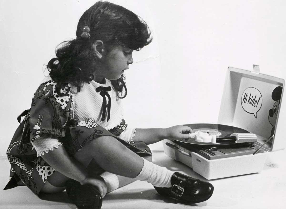 Children's phonographs, 1972