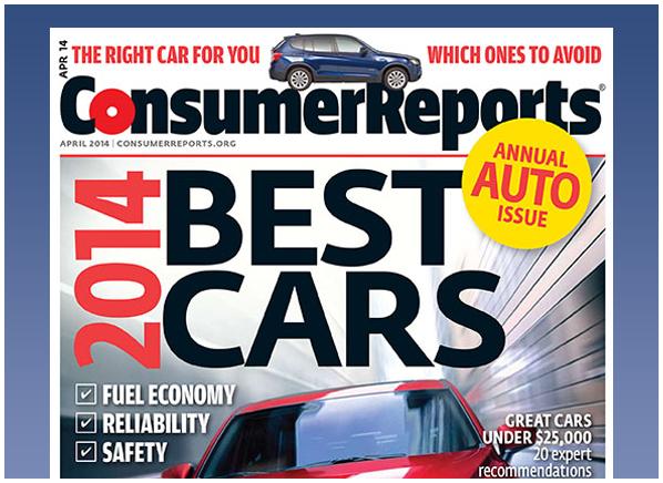 Consumer Reports Magazine | April