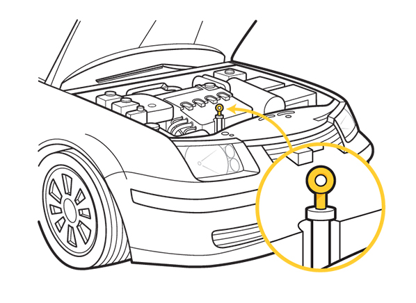 How to check your cars engine oil consumer reports autos for Motor oil consumer reports