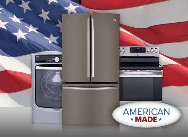 american made washing machine
