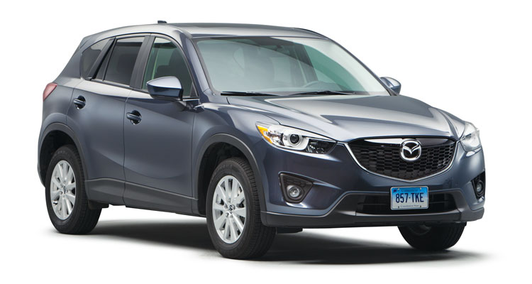A photo of the Mazda CX-5, a model considered by Consumer Reports experts to be one of the best used cars now available.