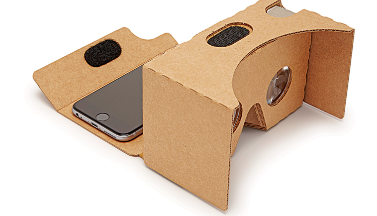 The Google Cardboard virtual reality headset gives consumers the opportunity to experience vr without spending a lot of money.