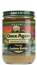 Once Again Organic Creamy Cashew Butter