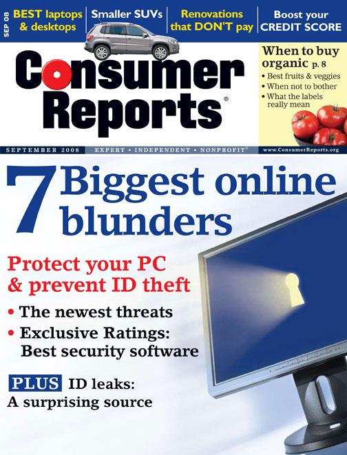 CR September '08 Cover