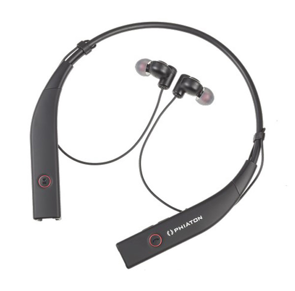 A pair of noise reduction headphones.