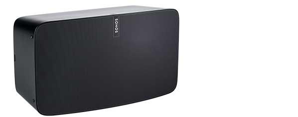 Picture of a wireless wi-fi speaker.