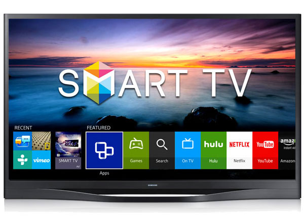 Picture of a smart TV.