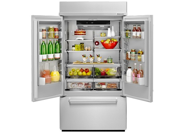 Built In Refrigerator Reviews Refrigerator Tests Consumer Reports