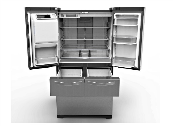 High Capacity Large Refrigerators Get More Family Friendly