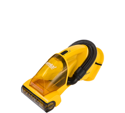 Picture of a hand-held vacuum.