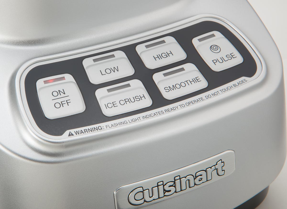 Photo of touchpad controls on a food processor.