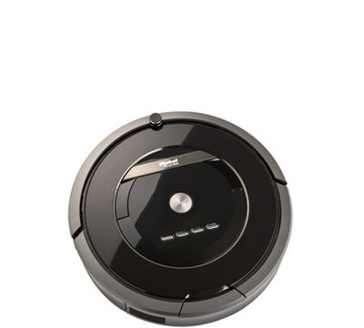 Picture of a robotic vacuum.