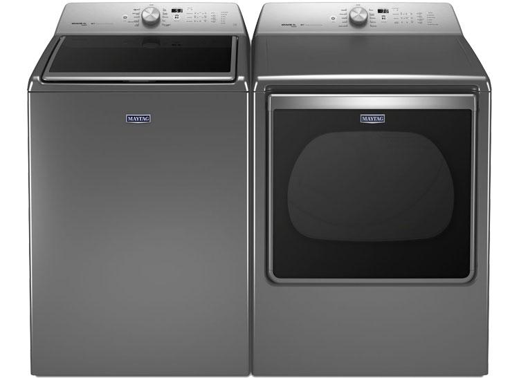 Make your Maytag Bravos MVWB855DW HE and Maytag Bravos MEDB855DW washer and dryer last.