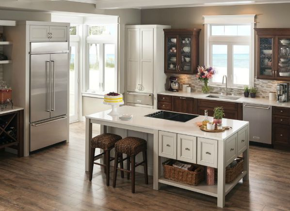 Installing Kitchen Aid  Refrigerator Panel
