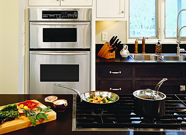 Double Wall Oven With Microwave How to Buy a Cooktop and Wall Oven - Consumer Reports