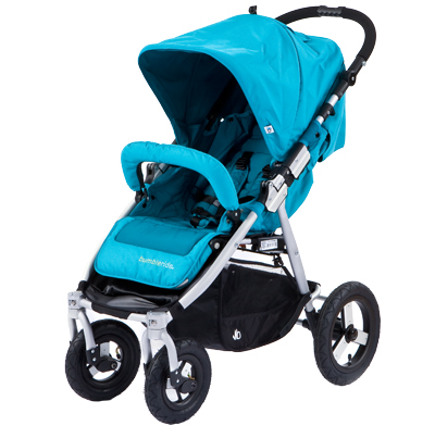 Photo of a single combo stroller.