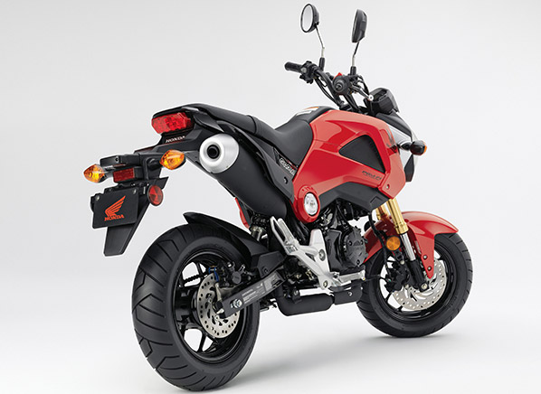 Wee-little Honda Grom motorcycle delivers full-sized fun on a budget