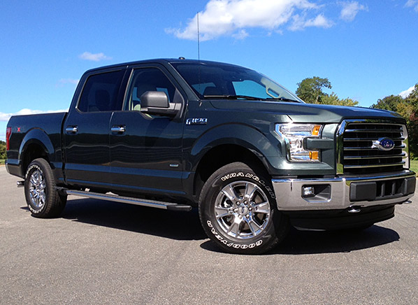 redesigned 2015 ford f 150 proves leaner and more refined. Black Bedroom Furniture Sets. Home Design Ideas