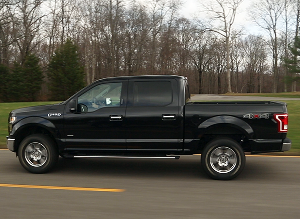 2015 ford f 150 road test results consumer reports. Black Bedroom Furniture Sets. Home Design Ideas