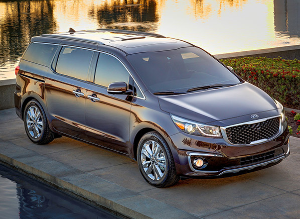 2015 kia sedona new york auto show consumer reports news. Black Bedroom Furniture Sets. Home Design Ideas