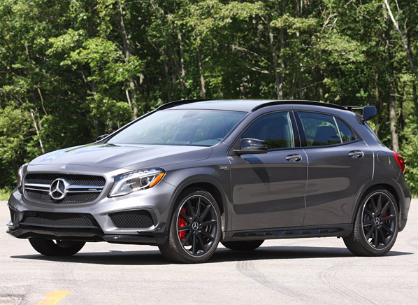 Mercedes benz gla joins the small suv fray consumer for Mercedes benz gla suv price