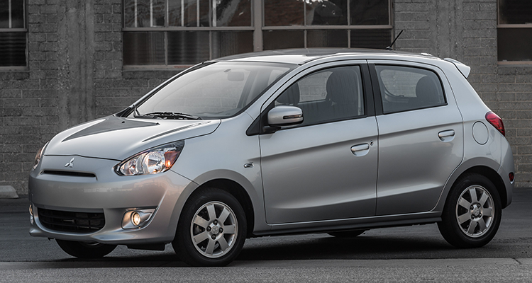 The Mitsubishi Mirage is one of the worst cars of 2015