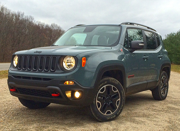 Jeep Renegade First Drive On Track And Trail Review