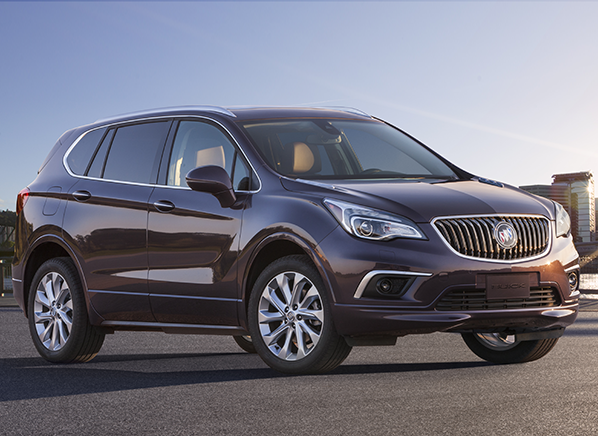 2016 Buick Envision Fills Gap in Brand's SUV Lineup ...