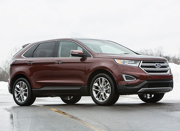 redesigned 2015 ford edge review consumer reports video. Black Bedroom Furniture Sets. Home Design Ideas