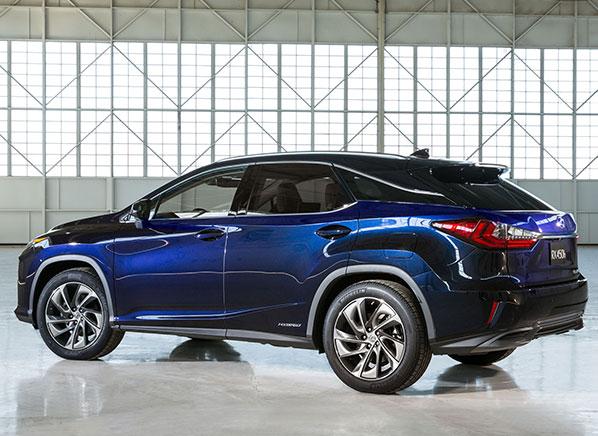 2016 Lexus Rx 350 Rx 450h New York Auto Show Consumer