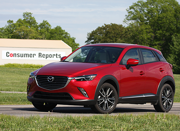 2016 mazda cx 3 suv first drive consumer reports. Black Bedroom Furniture Sets. Home Design Ideas