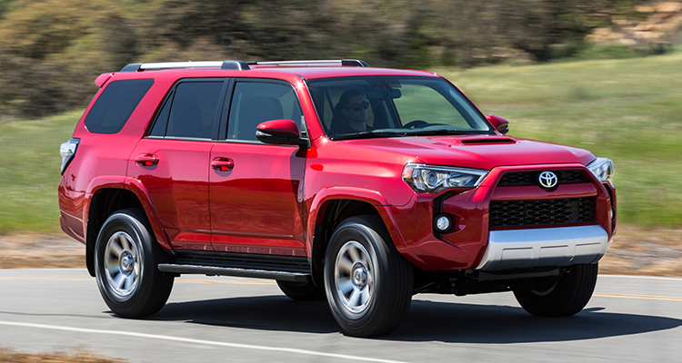 The Toyota 4Runner SUV is a good choice to get to 200,000 miles.