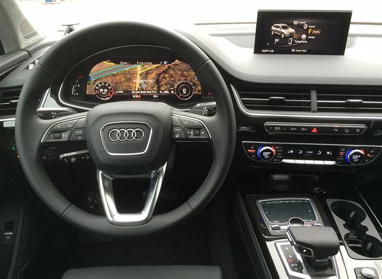 2017 Audi Q7 Suv Proves Slick And Opulent Consumer Reports