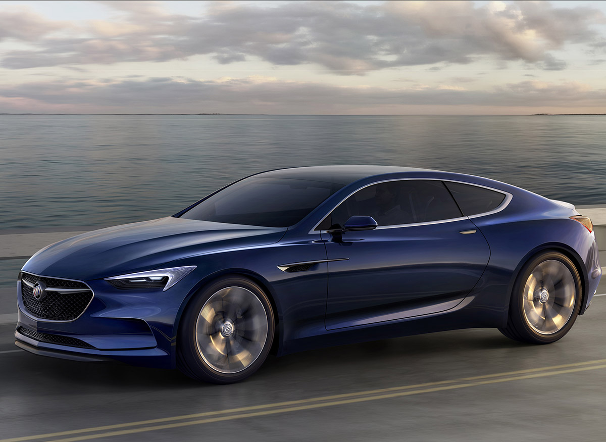 Buick Avista Concept was unveiled at the 2016 Detroit Auto Show