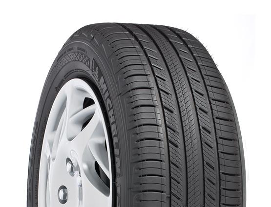 An all-season car tire.