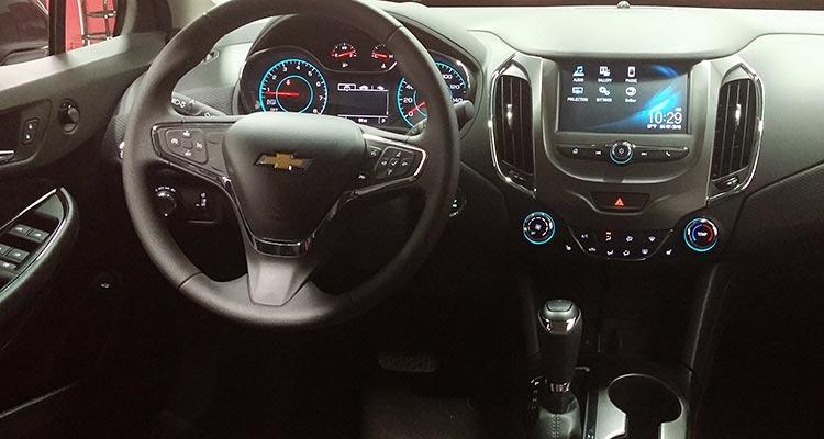 2016 Chevrolet Cruze nội thất
