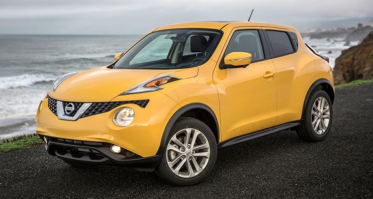 Nissan Juke is among worst models with AWD
