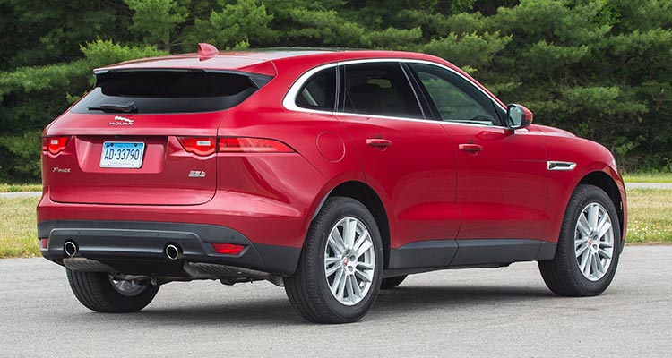 2017 Jaguar F Pace Suv Proves Luxurious And Sporty