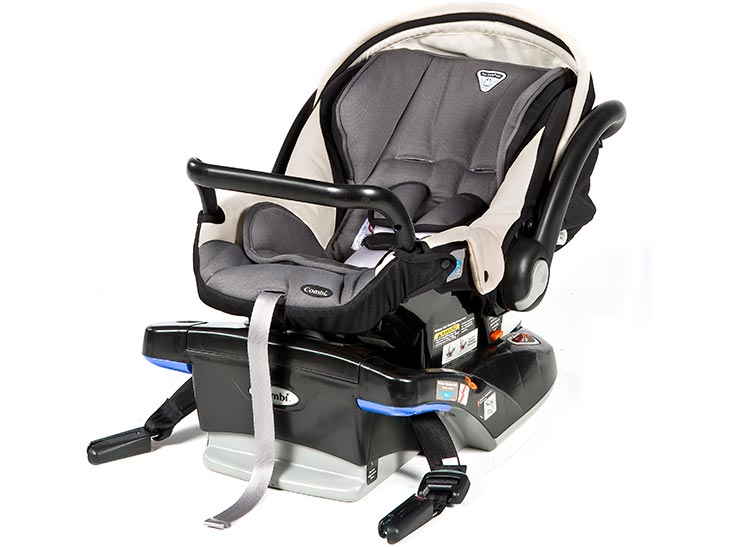 Combi Shuttle Car Seat In A Car
