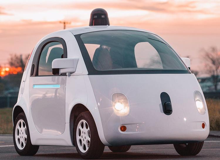 Google self-driving prototype