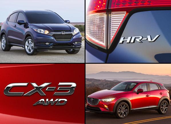 Mazda Cx3 Vs Honda Hrv | 2017 - 2018 Best Cars Reviews