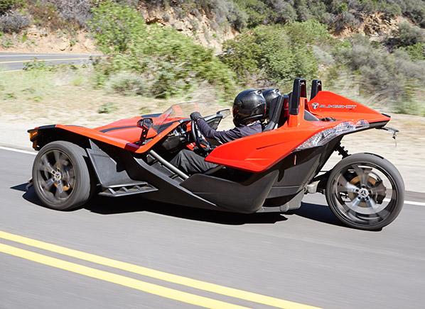 Radical Polaris Slingshot Is Part Car Part Motorcycle