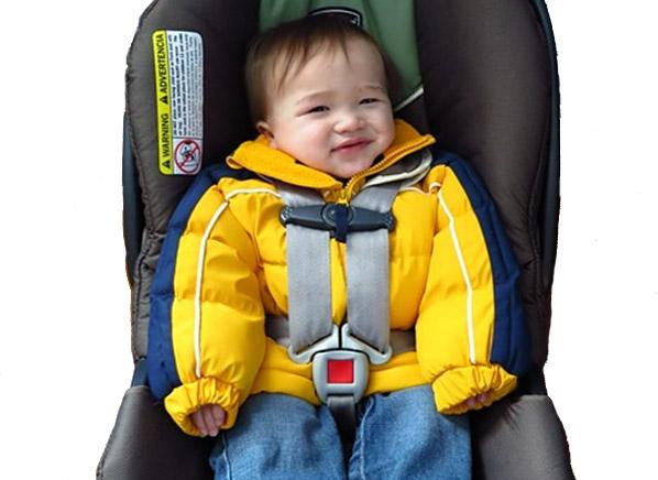 Child Car Seat Winter Coat